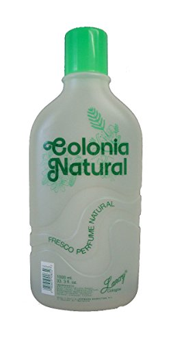 Lancry Colonia Natural Cologne 33.3oz 1000ml Pack of 3