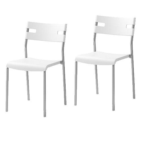 white chairs ikea ikea. Perfect Ikea To White Chairs Ikea K