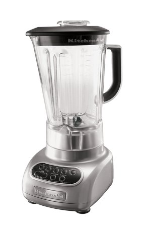 KitchenAid KSB560MC 5-Speed Blender with Polycarbonate Jar, Metallic Chrome