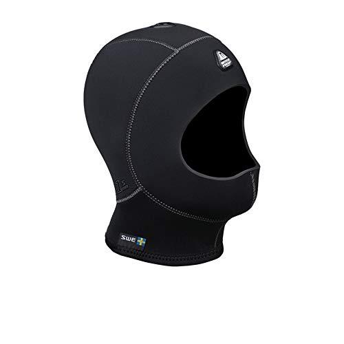 Waterproof H1 3/5mm Vented Anatomical Hood Without Bib, Large