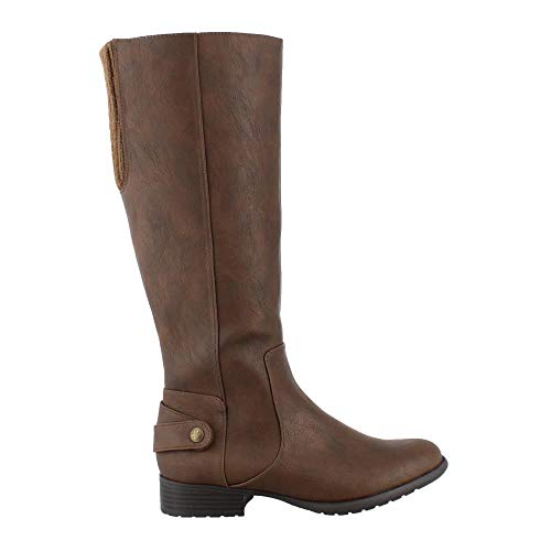 Equestrian Style Boot (LifeStride Women's, X-Amy Tall Boots TAN 8.5 M)