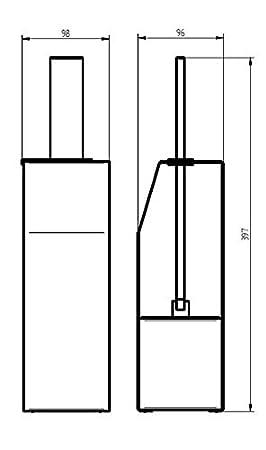 HACEKA Edge Ablage 1143807 verchromt