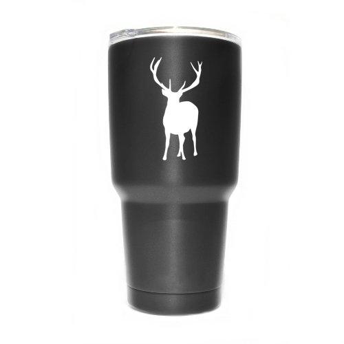 Deer Buck Hunting Vinyl Decal Sticker ( 2 Pack!!! )   Yeti...