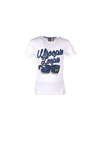 T-shirt Uomo Whoopie Loopie S Bianco Wm17s10tg Primavera Estate 2017