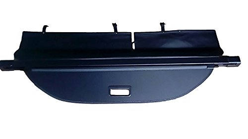 Kaungka Cargo Security Rear Trunk Cover Retractable for 2019 Jeep Cherokee Cargo Cover Black(Updated Version:There is no Gap Between The Back Seats and The Trunk Cover)