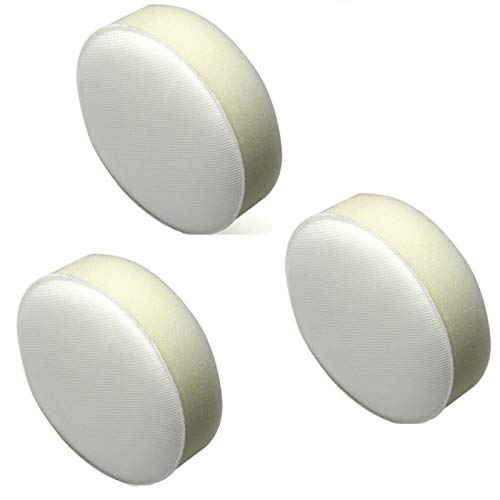 Ximoon 3 Pack Replacement for Hoover Foam Filter - fit Hoover Cordless/Platinum Stick and Hoover Linx Hand Vacuums, Replaces Part 410044001