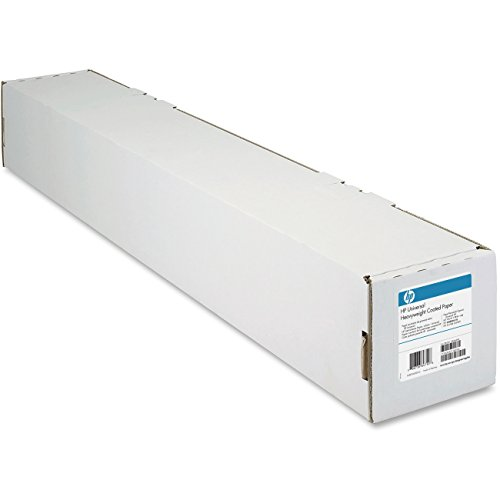 "HP Universal Heavyweight Coated Paper 6.8 mil, 131 g/m2 (35lbs), 2"" core, 1 roll/carton (42"" x 100"