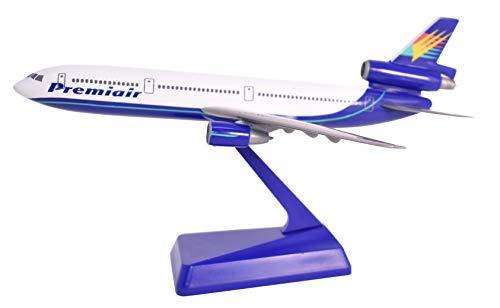 Premiair DC-10 Airplane Miniature Model Plastic Snap-Fit1:250 Scale Part# ADC-01000I-014