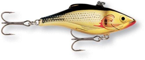 Rapala Rattlin 07 Fishing lure (Silver Gold, Size- 2.75)