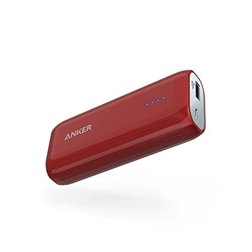 Anker [Upgraded to 6700mAh] Astro E1 Candy-Bar Sized Ultra Compact Portable Charger, External Battery Power Bank High-Speed Charging PowerIQ Technology