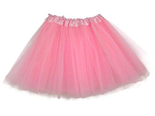 Rush Dance Ballerina Girls Dress-Up Princess Fairy Costume Recital Tutu (Kids 3-8 Years, Light (Girls Pink Fairy Costume)