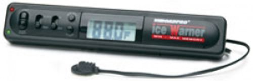 Indoor/Outdoor Electronic Thermometer with Black Ice Alert Warner and Clock for Cars & Trucks RoadPro