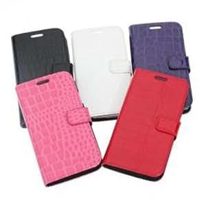 Samsung galaxy S3 i9300 CROCO Design PU Leather Cover Case --- Color:Red