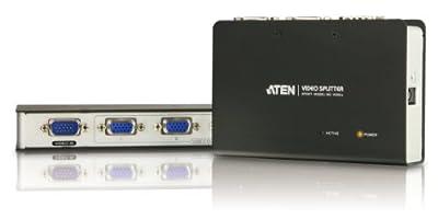 ATEN 2-Port 250 MHz VGA Video Splitter VS82 (Black)