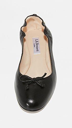 Lk Bennett Womens Thea Ballet Noir