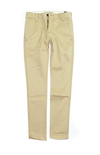 Abercrombie & Fitch Boy's Slim Straight Chinos Pants K-15 (5/6, 0090-044) ()