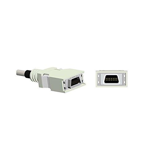 Compatible Nellcor Spo2 Sensor Pediatric Soft Finger Tip 9.8 ft 14 Pins Connector