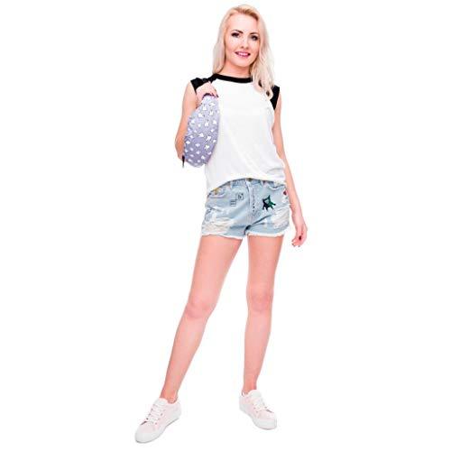 Fanny Running Bag Hiking Pouch Purple Fashion Sports Kanpola Belt Pack Waist Zip agztOq