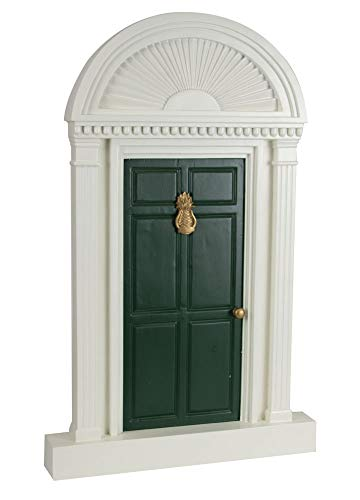 Byers' Choice Green Door w/Pineapple #6312