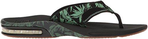 ReefFANNING PRINTS ARMY CAMO - Sandalias de dedo Hombre negro verde