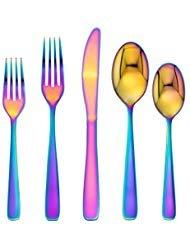 (Cambridge Silversmiths Stainless Steel Rainbow Mirror Flatware)