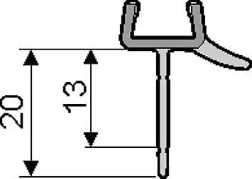 groß auswahl online super günstig im vergleich zu Hüppe Dichtleiste 6 mm Viertelkreis 1/4 Kreis Dichtung für ...