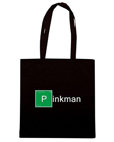 T-Shirtshock - Bolsa para la compra TGAM0058 Pinkman Negro