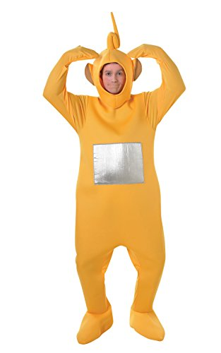 Teletubbies Yellow Laa-Laa Adult Fancy Dress Stag Costume -