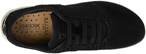 Noir Sneakers Femme C9999 D black Geox C Basses Nebula CYqzwF