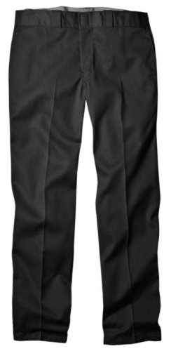 Khaki Career Pants - Dickies Men's Original 874 Work Pant, Black, 40W x 34L