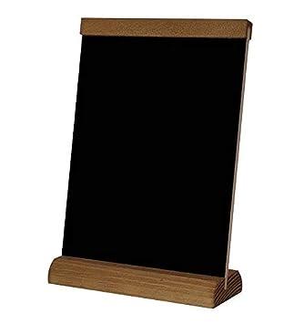 4 Speisetafel Tischaufsteller A4 beidseitig beschreibbar Werbetafel Holztafel Kreidetafel