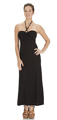 cache black halter dress - 8