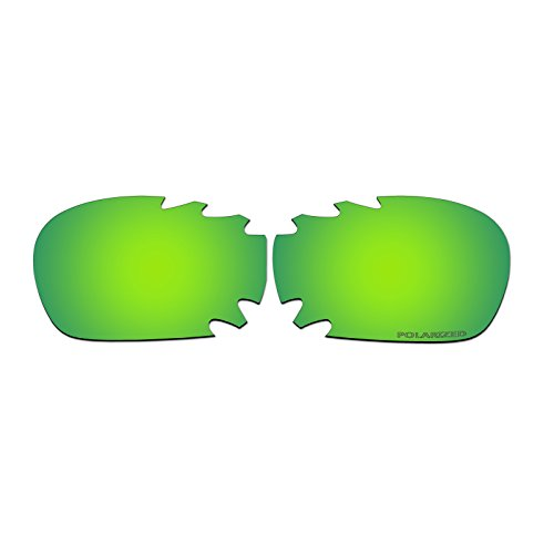 Polarized Replacement Sunglasses Lenses for Oakley Jawbone Vented with UV - Green Jawbone Oakley