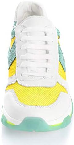 Alba Moda Sneaker mit Netzmaterial Weiß
