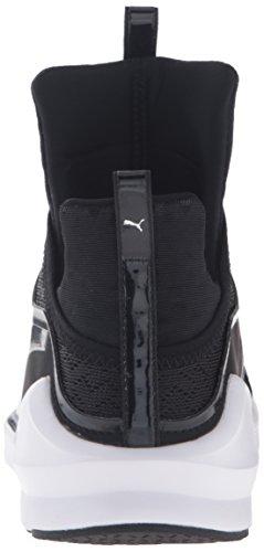 PUMA Women's Fierce Eng Mesh Cross-Trainer Shoe, Black White, 9.5 M US by PUMA (Image #2)