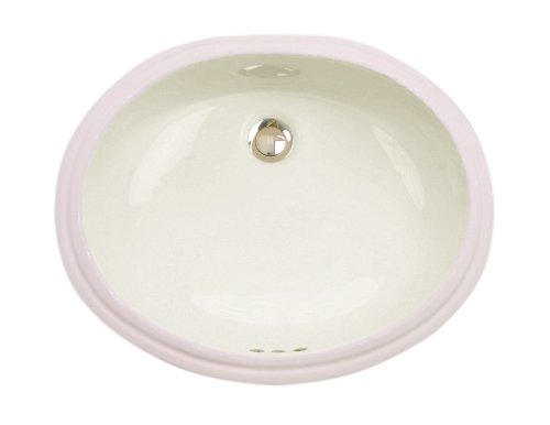 St. Thomas Creations 1114.000.06 Orchid Medium Undermount Lavatory Sink With Overflow, Balsa Finish