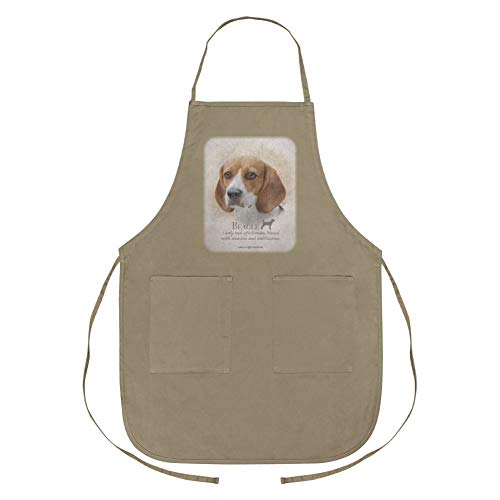 GRAPHICS & MORE Beagle Dog Breed Apron with Pockets