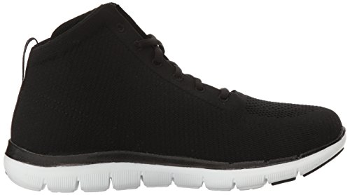 Skechers Sport Womens Flex Appeal 2.0 In Code Fashion Sneaker Black/White GnTks30