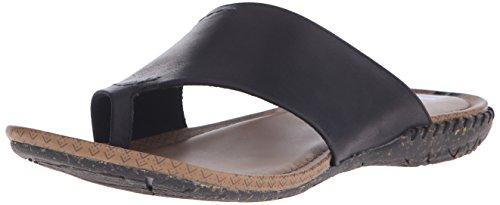 Merrell Womens Slip Wrap Slide Sandal Nero