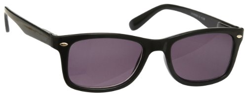 Style 00 UVSR023 Reader by Wayfarer Case Reader Sun UV Readers Black Glasses UV400 Strength Inc Womens Reading 2 UV Mens 0xawfaO