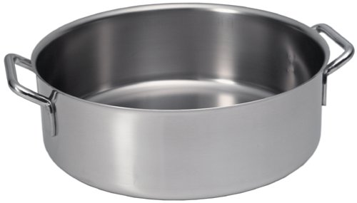 Sitram Catering 10.4-Quart Commercial Stainless Steel Rondeau ()
