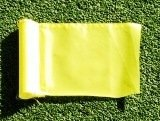 """(1) Replacement Solid Yellow Colored Jr Golf Flag for our 30"""" Practice Green Pin Marker with Easy Grab Knob"""