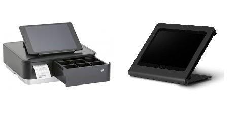 Star MPOP Black & IPad Air 2 Metal Ergonomic Solutions c frame Stand Black by PAC Supplies USA