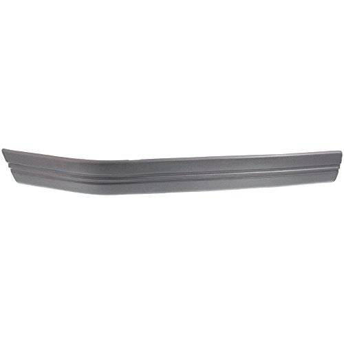 Bumper Trim Molding compatible with Ford F-Series 92-97 Front RH Plastic Black Right Side ()
