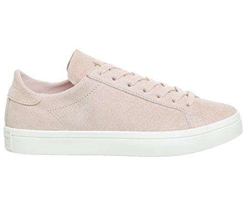 adidas Off Basketball Men''s Courtvantage White Pink Shoes Vapour aF6Cvq