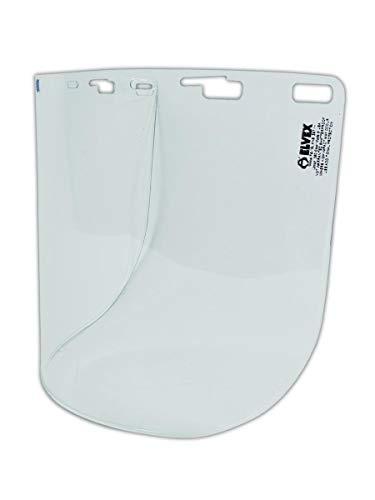 Elvex Corporation FS-15L Lexan Faceshield, Standard, Clear - Lexan Face Shield