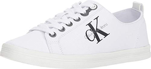 Calvin Klein Jeans Women's Monna White 6 M US M
