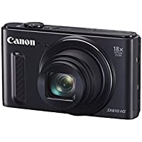 Canon PowerShot SX610 HS - Wi-Fi Enabled (Black) (Certified Refurbished)