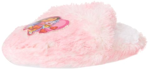 Nickelodeon Dora the Explorer Scuff W Heart and Strap Slipper (Toddler),Pink,9-10 M US Toddler (Dora The Explorer Charms)