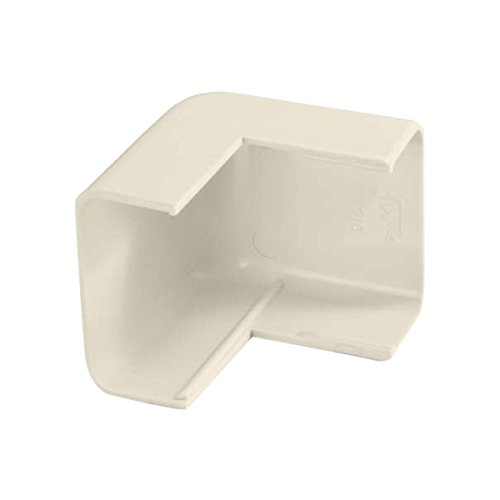 C2G/Cables to Go 13368 Tyton Raceway Outside Corner, Ivory (1.75 Inch)